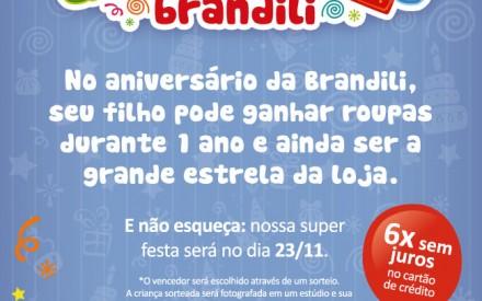 Aniversário Loja Ibirapuera