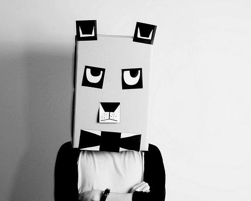 Cabeças De Animais Com Caixas De Papelão Blog Moda Infantilblog
