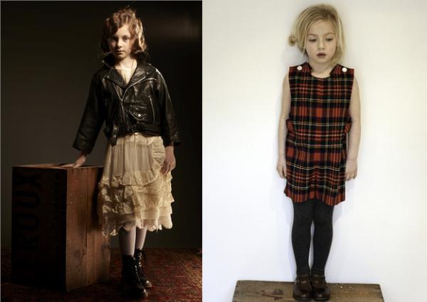 moda infantil vintage