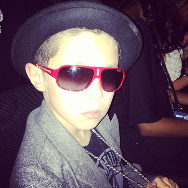 O Instagram de Landon Barker, Filho de Travis Barker ...