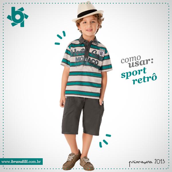 35bbcedbc1d03 Como usar  Sport Retrô para meninos - Blog Moda InfantilBlog Moda ...