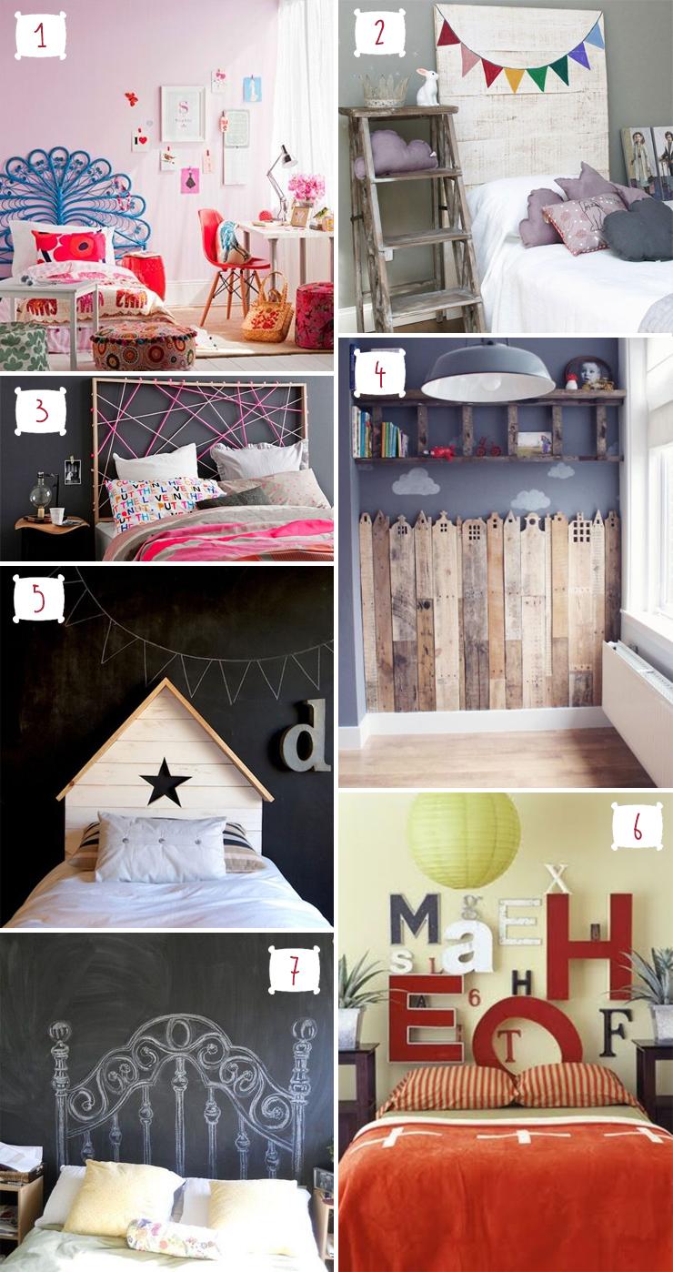 Populares 7 ideias criativas para cabeceira de cama infantil - Blog Moda  BE93