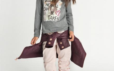 BrandiDrops de moda infantil: como usar casaco amarrado na cintura