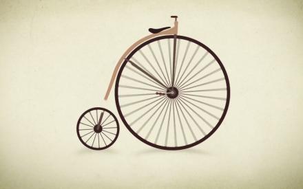 A evolução da bicicleta desde as de madeira às de corrida