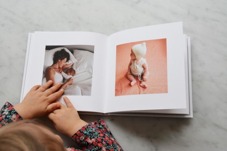 Álbum de fotos impressas do Instagram