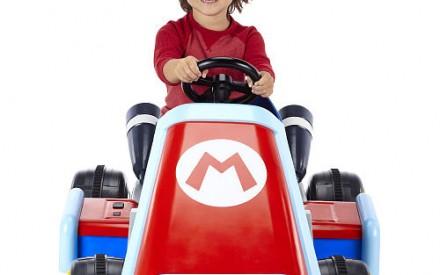 Nintendo e Jakks Pacific lançam carro elétrico do Mario Kart