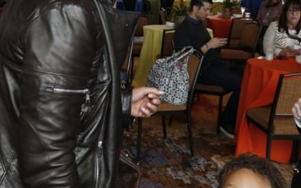 Cantora Alicia Keys e filho Egypt na estréia do filme Rio 2, em Nova York