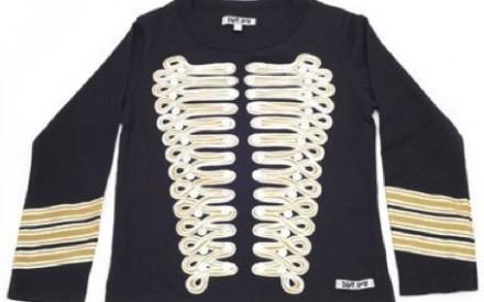 Camiseta de rock da jaqueta do Jimi Hendrix para crianças