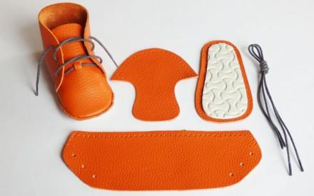 Kit de sapato faça você mesmo First Baby Shoes