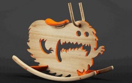 Balanço monstro feito por Constantin Bolimond