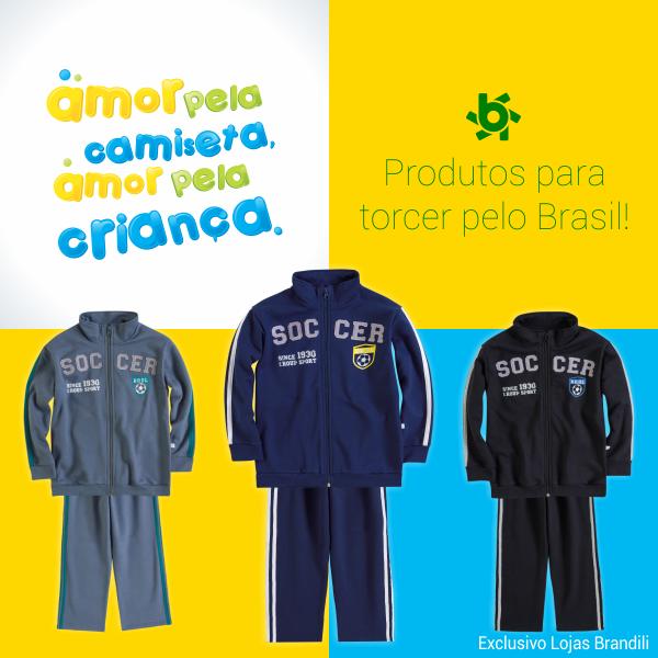 Roupa infantil para a Copa do Mundo 2014
