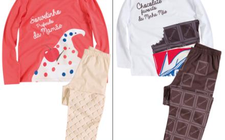 Pijama infantil para o inverno 2014