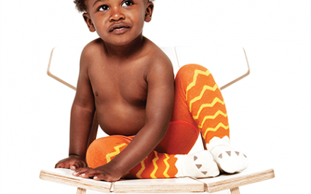 Meia-calça infantil masculina Little Titan