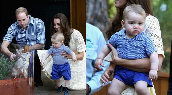 Roupas do príncipe George