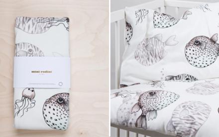 Roupa de cama para crianças Mini Rodini Home