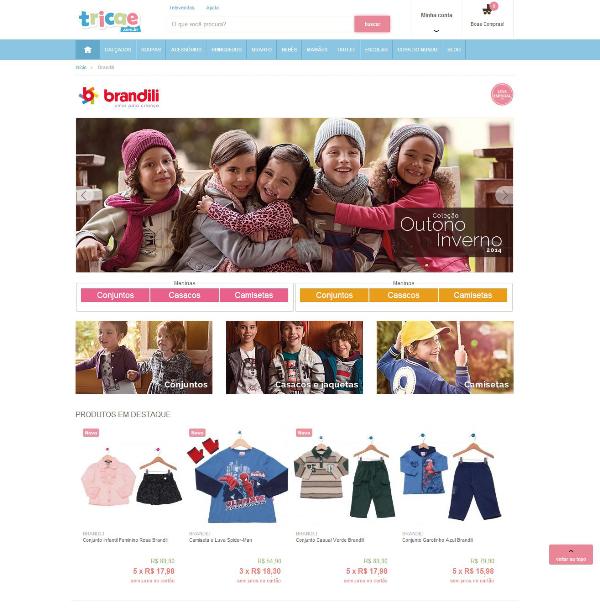 a4fe14c97 Tricae + Brandili  mais uma loja virtual onde você encontra nossas roupas  infantis