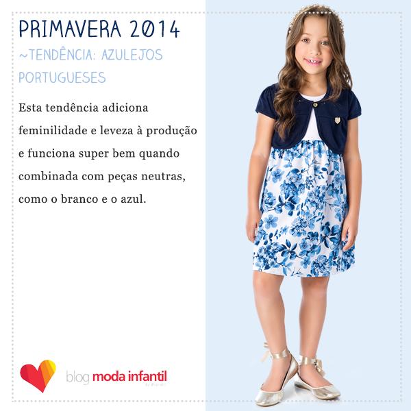 Coleção Primavera 2014 Brandili com tendência de Azulejos Portugueses