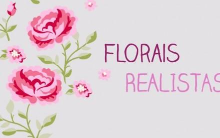 Estampa floral infantil primavera 2014