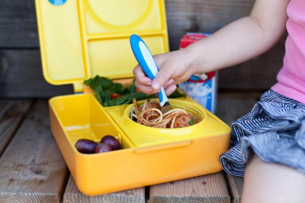 Lancheira para crianças que mantém a temperatura da comida