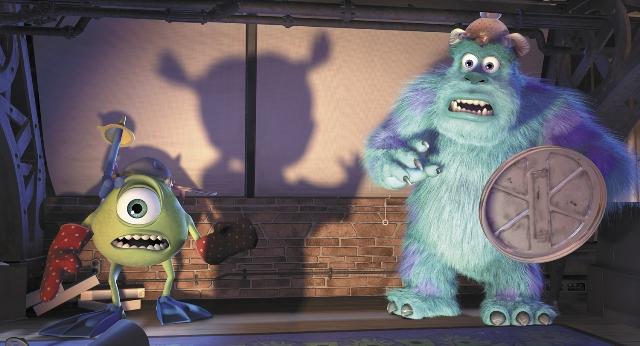 Monstros assustados