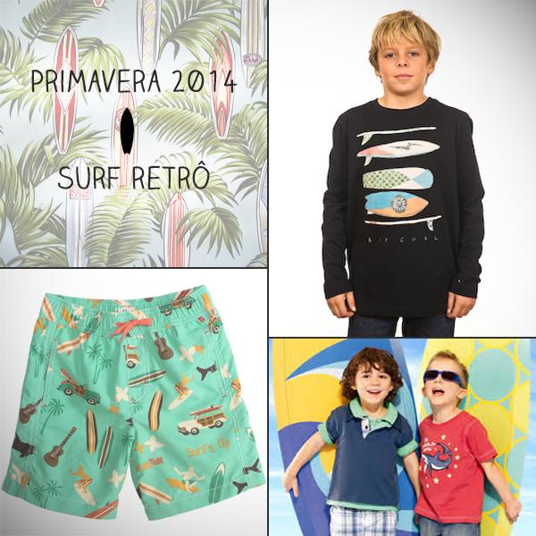 Roupas de surf para meninos Brandili