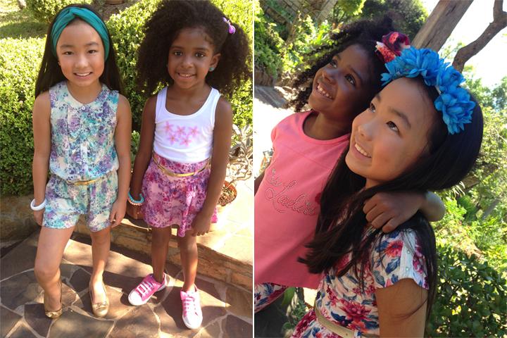 Making of coleção moda infantil primavera 2014