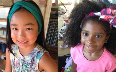 Penteados para meninas Brandili