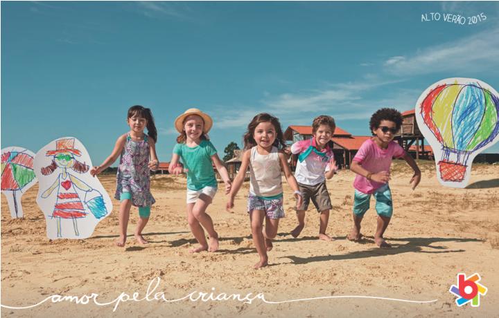 Moda infantil alto verão 2015