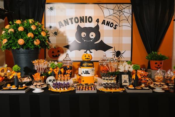 Decoracao De Festa Infantil Tema Halloween.Assustadoramente Divertida Festa De Aniversario De Crianca Com Tema