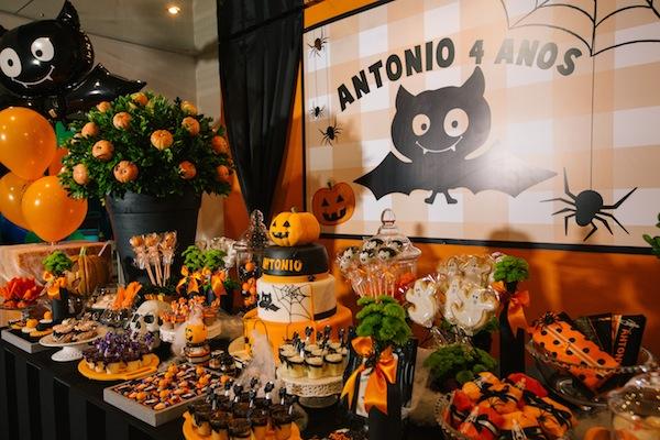 Decoracao De Festa Infantil Tema Halloween.Festa De Aniversario Infantil Tema Halloween 2 Blog Moda