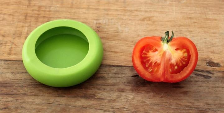 Utensílio de silicone para frutas e legumes Food Huggers