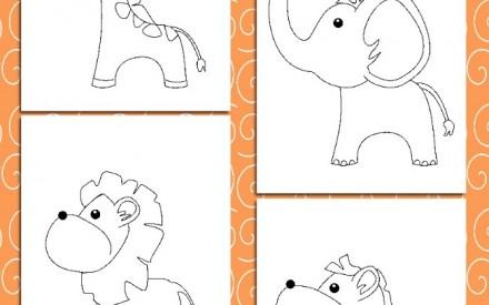 Desenhos infantis para colorir de graça