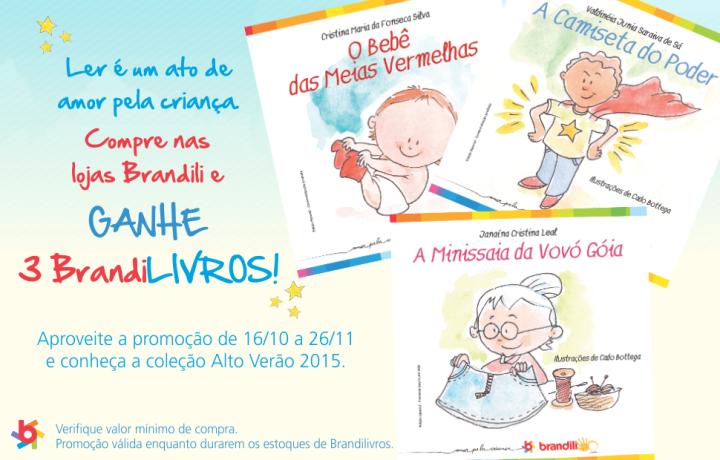 Promoção roupa infantil Brandili