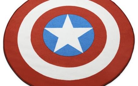Tapete para quarto de criança Marvel Capitão América