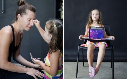 Elly Heise My Daughter Does My Makeup