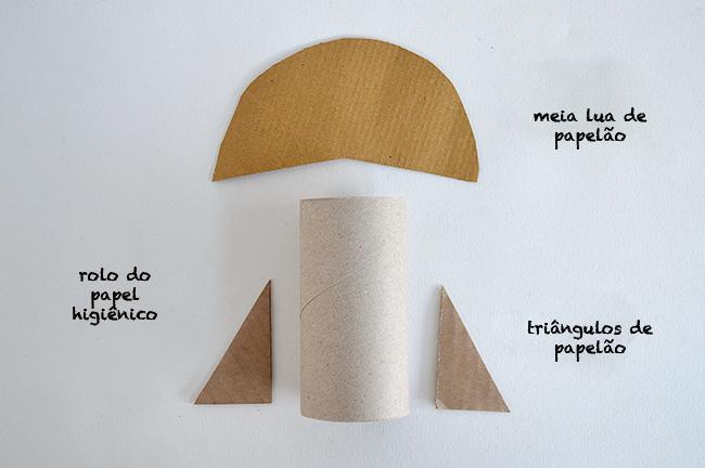 Foguete de papel higiênico