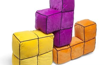 Decoração infantil geek de Tetris