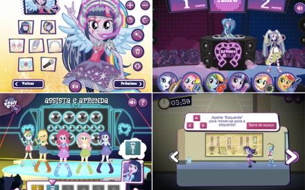 Jogos online Equestria Girls