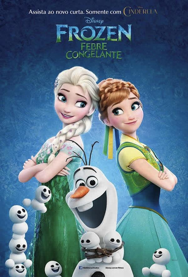 Poster filme Frozen: Febre Congelante