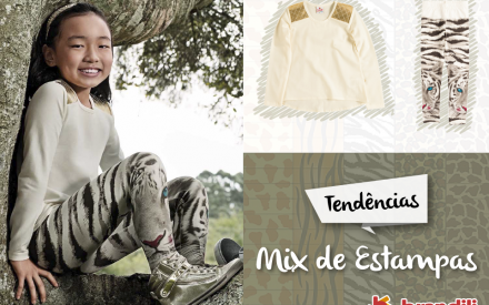 Mix de Estampa moda infantil