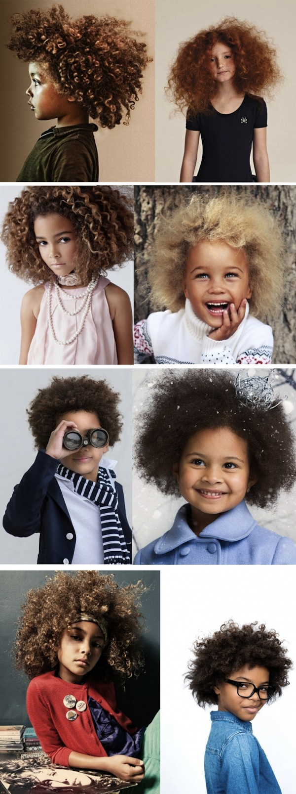 Cuidados cabelo cacheado infantil