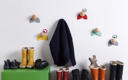 Cabide infantil de parede Hatschi