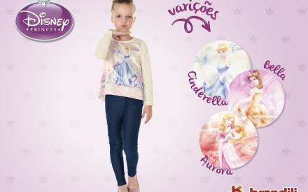 Roupa infantil Brandili + Princesas Disney