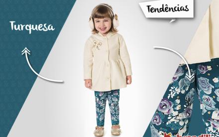 Tá na moda: Azul Turquesa para meninos e meninas neste Outono/Inverno 2015