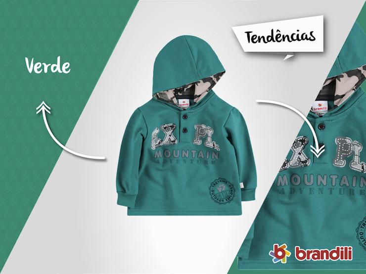 4 looks infantis com a Cor Verde: tendência de moda neste Outono/Inverno 2015