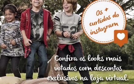 Roupa infantil em promoção: confira os looks de inverno com descontos na loja virtual Brandili