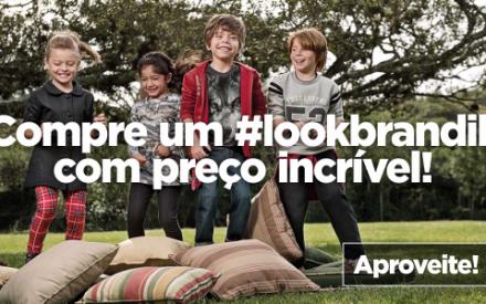 Roupa para criança em promoção