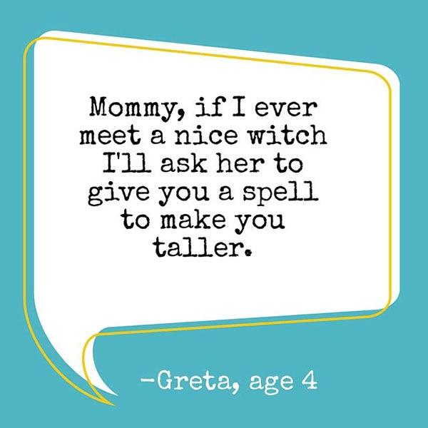 Frases divertidas das crianças