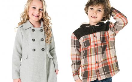 Casacos e jaquetas para meninos e meninas Brandili Mundi