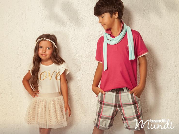 Moda infantil Primavera 2015